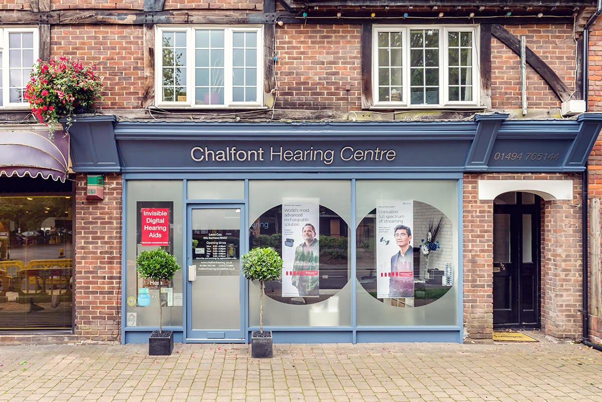 Hearing aids and ear wax removal, Chalfont, Bucks.
